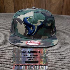 Houston Texans New Era 9fifty snapback hat